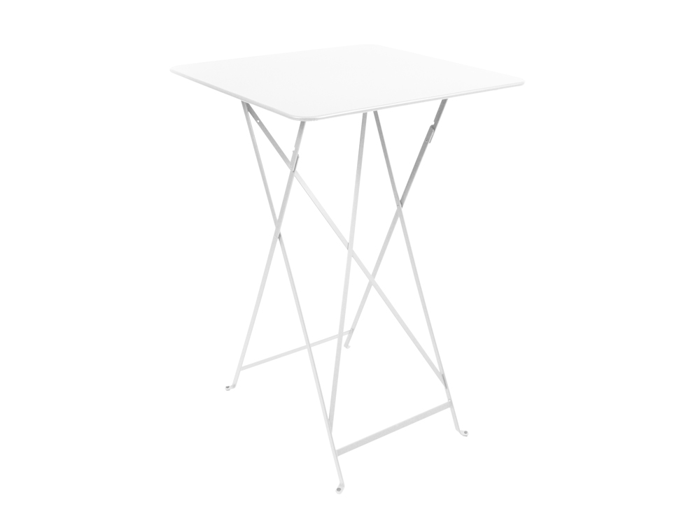 fermob bistro colourful iron folding high table for outdoors. Black Bedroom Furniture Sets. Home Design Ideas