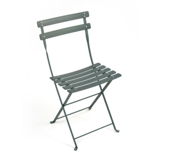 Fermob Bistro Duraflon Colourful Folding Metal Chair For The Garden