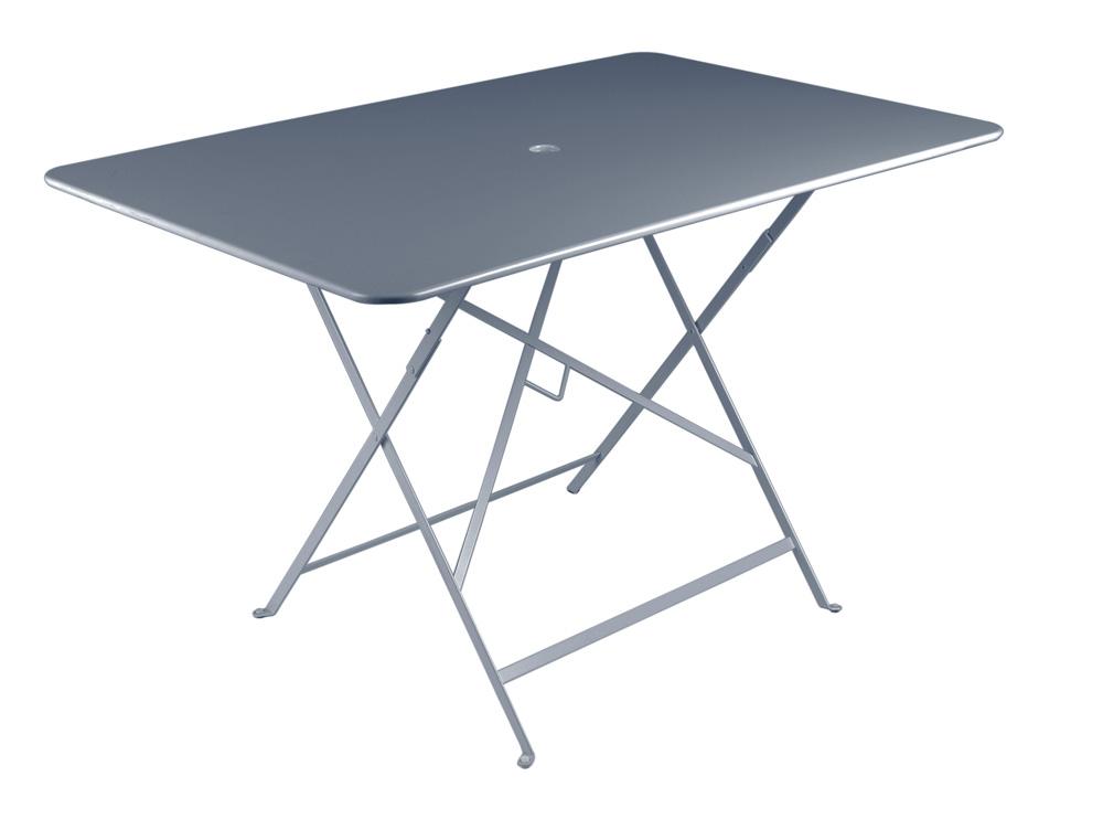 Grande table bistro fermob pliante color e et en m tal - Table fermob bistro ...