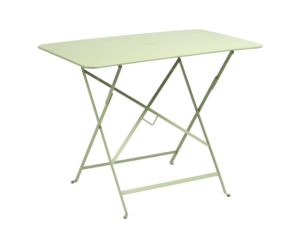 Dimensions Of A 6 Foot Rectangular Table Fermob Bistro colourful rectangular folding table for the garden