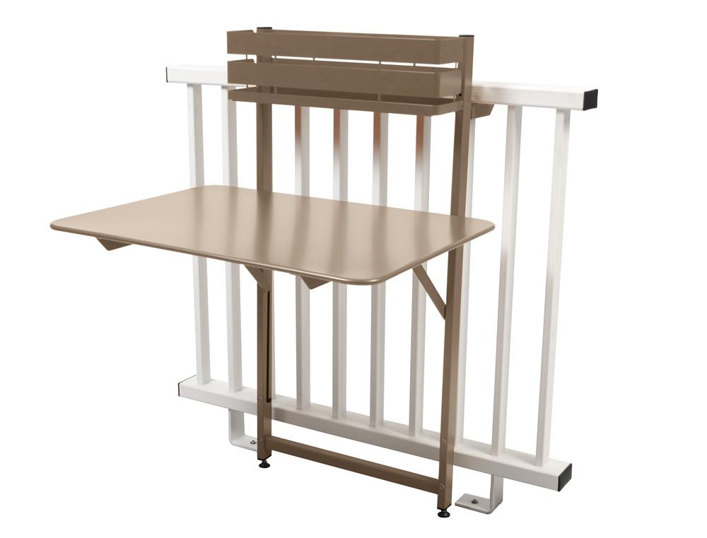 table balcon pliante bistro fermob en m tal et en couleurs. Black Bedroom Furniture Sets. Home Design Ideas