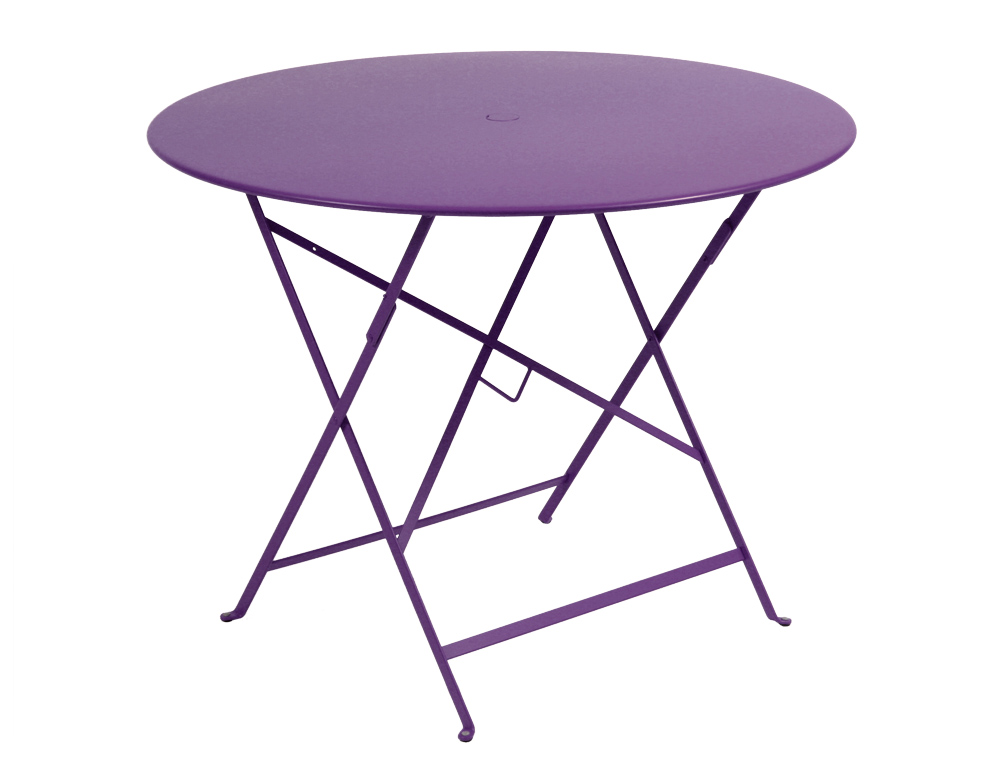 Fermob Bistro Colourful Metal Folding Round Table