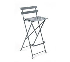 High stool Bistro Storm Grey