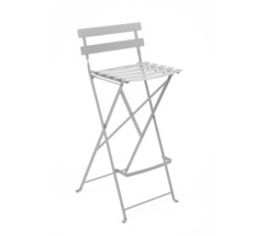 High stool Bistro Steel Grey