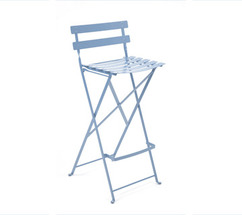 High stool Bistro Fjord Blue
