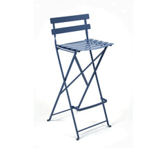 High stool Bistro Cobalt Blue