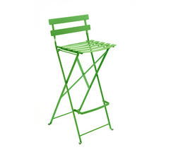 High stool Bistro Grass Green