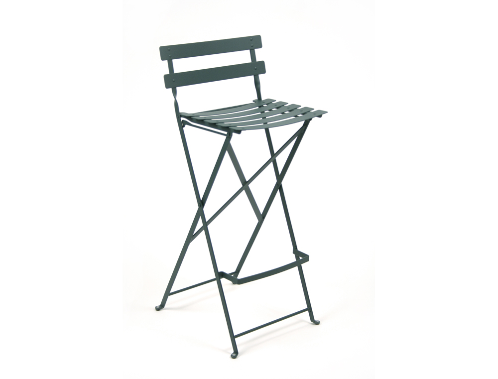 Fermob Bistro High Stool Colourful Steel Design For The Patio