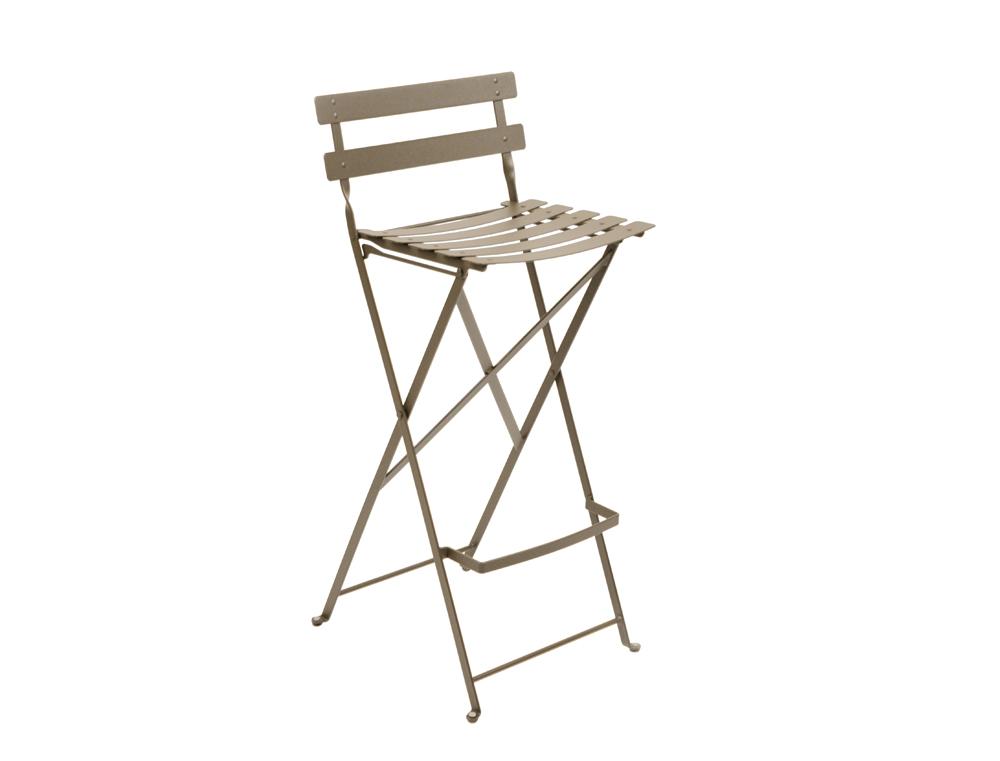 tabouret haut bistro fermob design en acier et en couleurs pour la terrasse. Black Bedroom Furniture Sets. Home Design Ideas