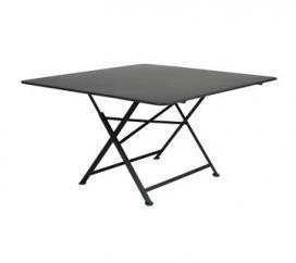 Table 130 x 130 cm Cargo Liquorice