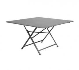 Table 130 x 130 cm Cargo Storm Grey