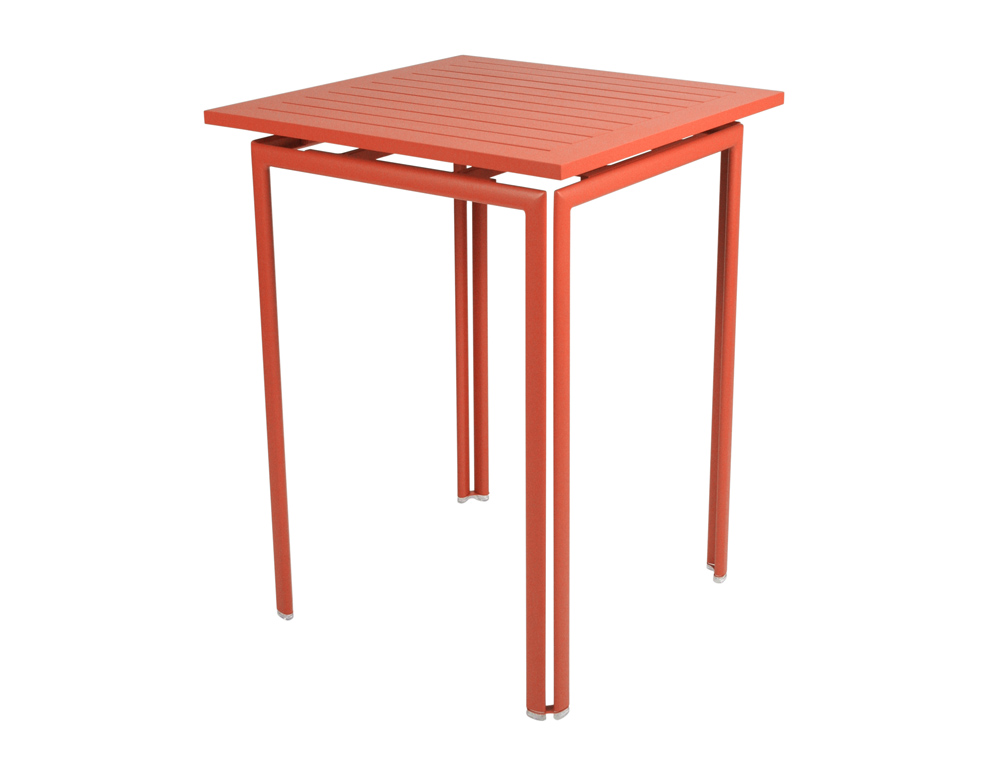 fermob costa colourful contemporary steel high pedestal table. Black Bedroom Furniture Sets. Home Design Ideas