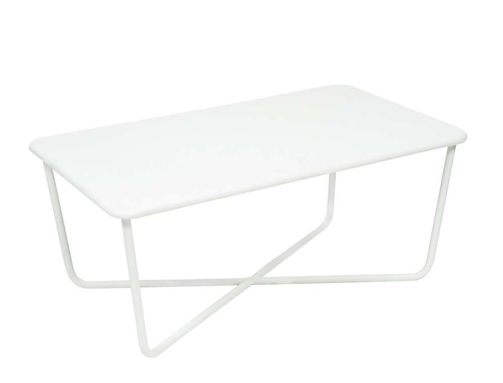 Fermob croisette colourful metal low table designed by - Table basse fermob ...