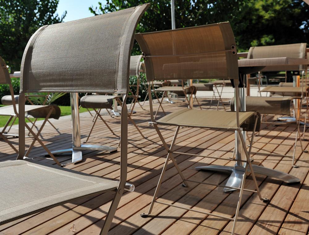 Fermob dune premium colourful modern garden seat fabric - Chaise dune fermob ...