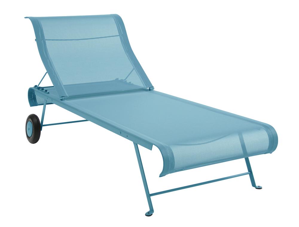 bain de soleil dune fermob moderne en toile et en couleur design pascal mourgue. Black Bedroom Furniture Sets. Home Design Ideas