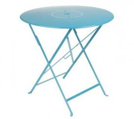 Table Ø 77 cm Floreal Turquoise
