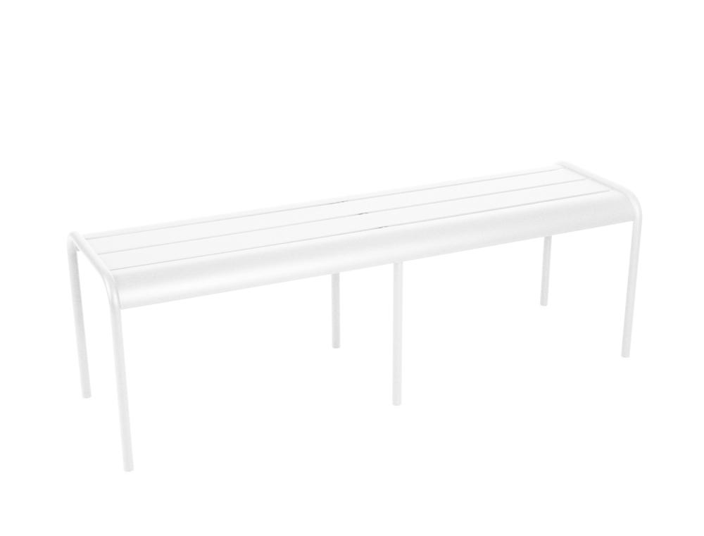 banc luxembourg 3 4 places fermob d 39 ext rieur design aluminium en couleurs. Black Bedroom Furniture Sets. Home Design Ideas