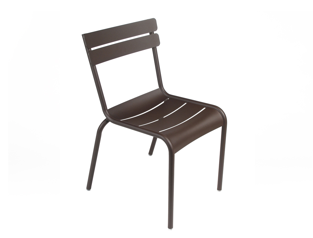 Luxembourg colourful aluminium garden chair designed by fermob - Fermob chaise luxembourg ...