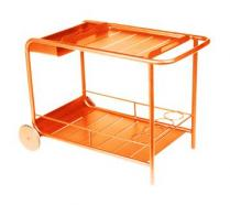 Side table / Bar with wheels Carrot