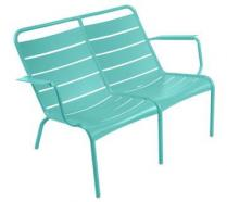 Low armchair Duo Lagoon Blue