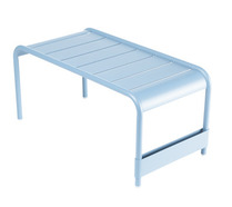 Large low table / Garden bench Fjord Blue