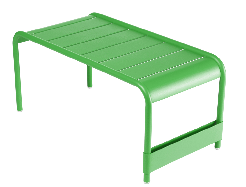 Grande table basse luxembourg fermob design alu en - Table de jardin plastique vert saint paul ...
