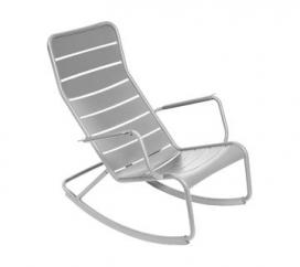 Rocking Chair Luxembourg Steel Grey