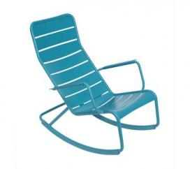 Rocking Chair Luxembourg Turquoise