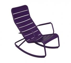 Rocking Chair Luxembourg Aubergine