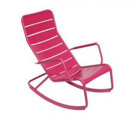 Rocking Chair Luxembourg Fuchsia