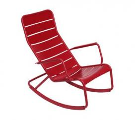 Rocking Chair Luxembourg Poppy