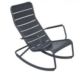 Rocking Chair Luxembourg Anthracite