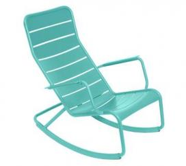 Rocking Chair Luxembourg Lagoon Blue