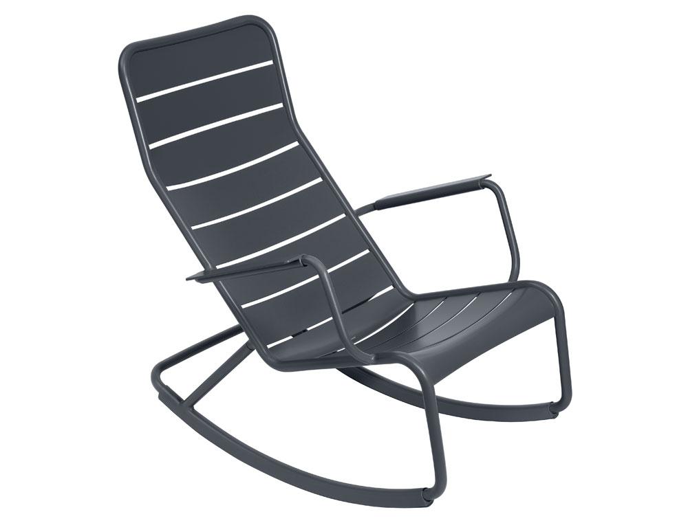 rocking chair luxembourg fauteuil bascule d 39 ext rieur design studio fermob. Black Bedroom Furniture Sets. Home Design Ideas