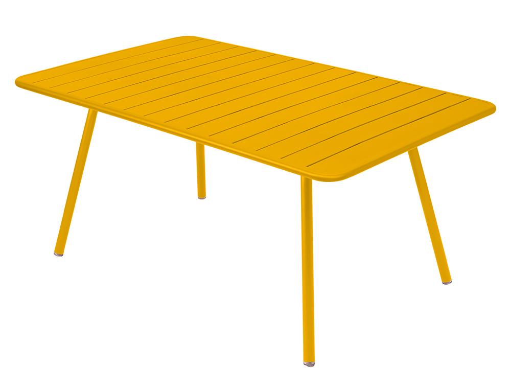 luxembourg rectangular aluminium garden table seats 8 fermob. Black Bedroom Furniture Sets. Home Design Ideas