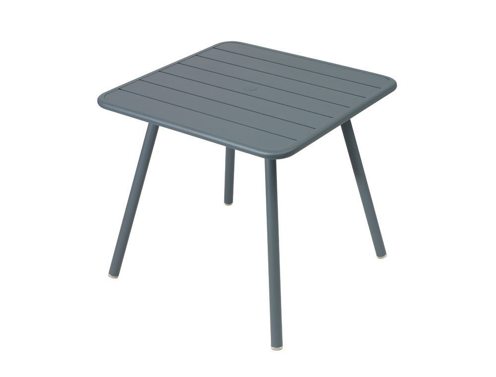 Luxembourg metal square patio table seats 2 4 fermob - Fermob luxembourg table ...