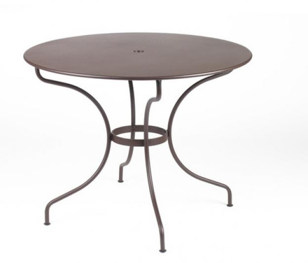 Best Table De Jardin Ronde Fermob Contemporary - Amazing House ...