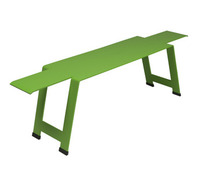 Bench Grass Green
