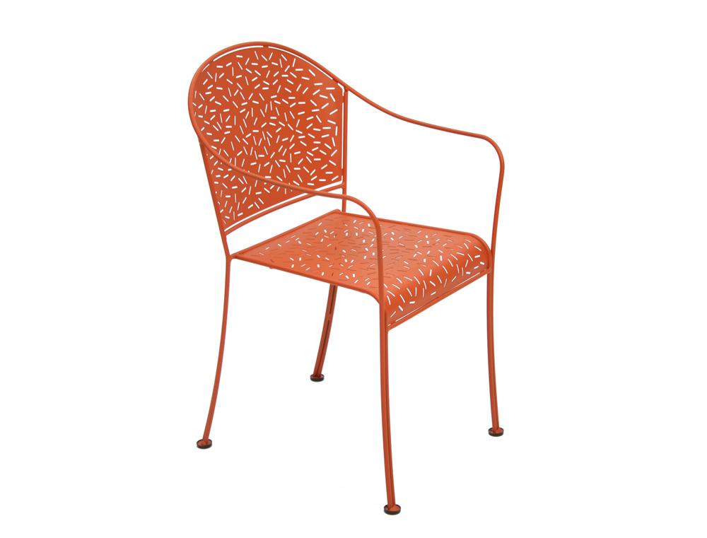 Fermob rendez vous colourful contemporary metal garden - Chaise dune fermob ...