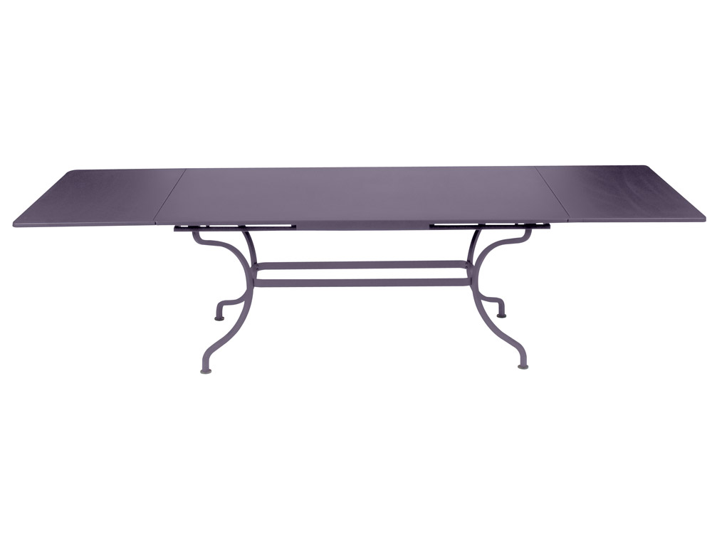 Fermob romane colourful large designer iron rectangular for Table 300 cm