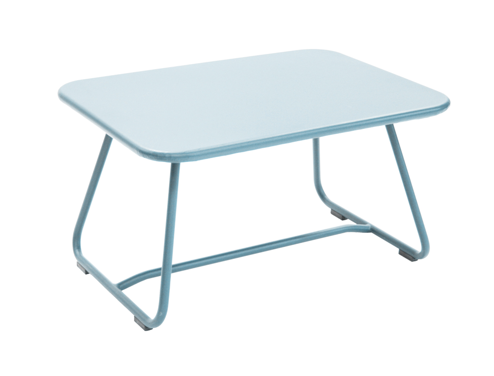Fermob Sixties Colourful Metal Low Table Designed By Frederic Sofia
