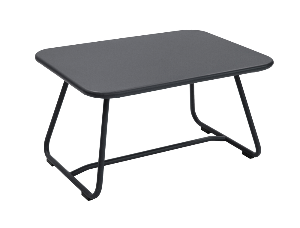 fermob sixties colourful metal low table designed by. Black Bedroom Furniture Sets. Home Design Ideas