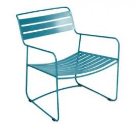 Low armchair Suprising Turquoise