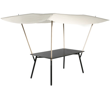 Table 160 x 90 cm Tablabri Liquorice