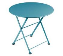 Low table Ø 55 cm Turquoise