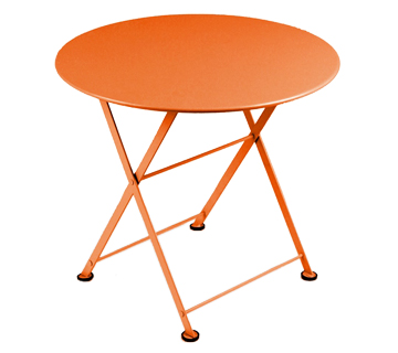 Table tom pouce fermob design d 39 ext rieur pour enfant en m tal et en couleurs - Fermob tom pouce ...