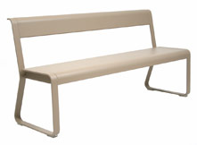 Bench with backrest Bellevie