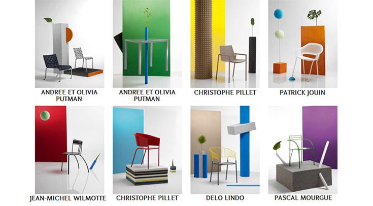 fermob idoles au salon de milan with fermob ledru rollin. Black Bedroom Furniture Sets. Home Design Ideas